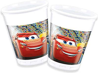 8 Gobelets CARS 20 cl