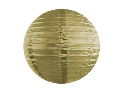 Lampion rond Or 30cm