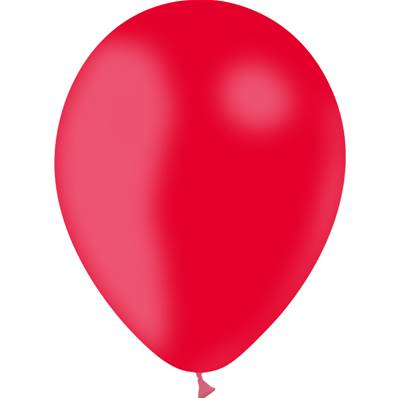 "25 Ballons Rouge 5"" (14cm)"