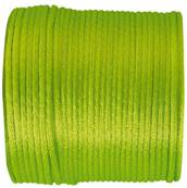 Queue de rat vert anis 2mm/25m Polyester